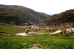 Vista de Buiza, Camino de San Salvador - La Robla - Poladura de la Tercia (78)