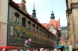 Dresde - La Procesión de los Príncipes