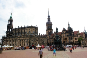 Dresde - Plaza del Teatro