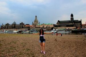 Dresde - Vistas desde la Ciudad Nueva