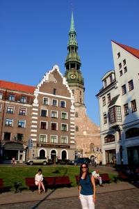 Riga - Iglesia de San Pedro