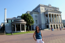 Riga - Ópera Nacional de Letonia