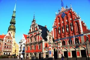 Riga - Plaza del Ayuntamiento