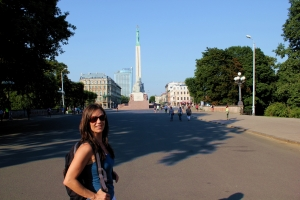 Riga - Monumento de la Liberta