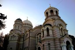 Riga - Catedral Ortodoxa de la Natividad de Cristo