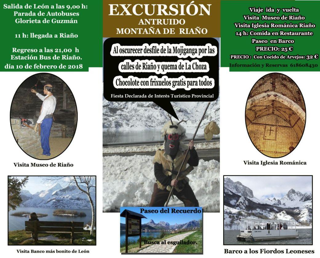 Programa Antruido Montaña de Riaño 2018