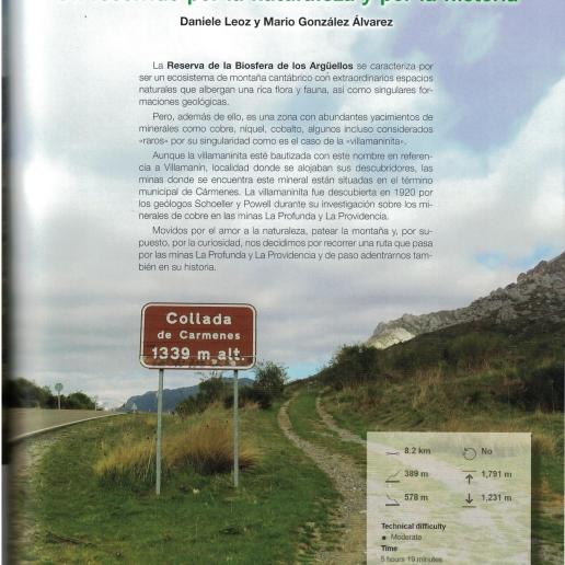 Primera página de nuestro Artículo en la Revista Arbolio