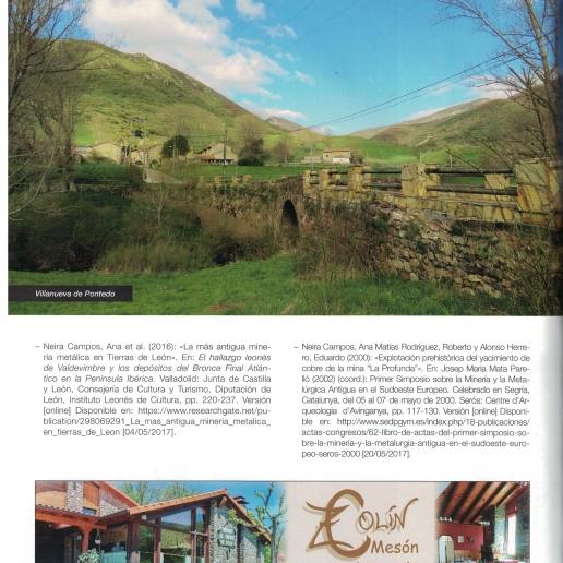 Última página de nuestro Artículo en la Revista Arbolio
