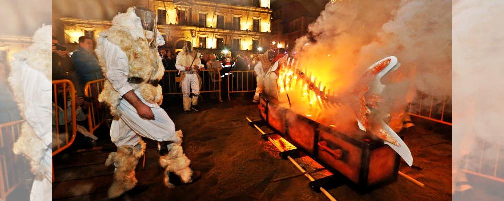 Portada Encierro de la Sardina Carnavales León